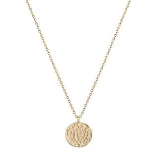 Dainty 14k Gold Plated Circle Necklace